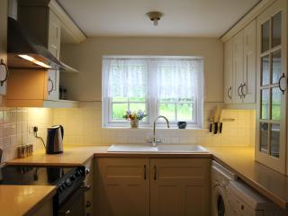 Superb modern kitchen with all you need for preparing meals from delicious Cornish local produce