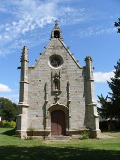 The 16th century chapel of Sainte Anne