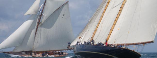 Pendennis Cup 2010 - superyachts racing in Falmouth Bay