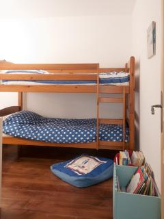 Childrens Bunk Room (also has single and cot)