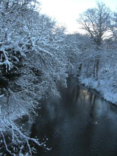 The Yarrow Water, winter-time