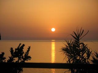 A typical sunset you see whilst seated on terrace