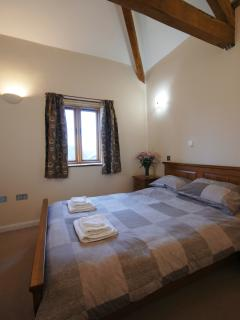 Double bedroom in Oak cottage