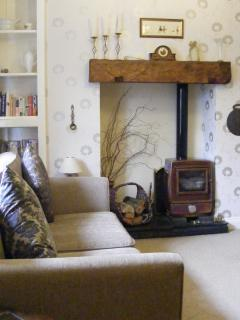 Log burner for those cosy nights in.