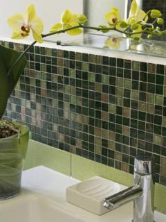 Il bagno con mosaico