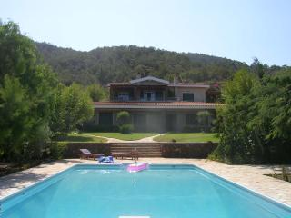 Luxury Villa with pool + tennis court, Nea Dimmata