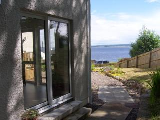 Muilean patio doors with burnside view