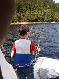 Free Fishing on the Shores of Loch Lochy via Loch Side Access