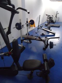 Gym facilities, free to use inside the Top Lodge Complex
