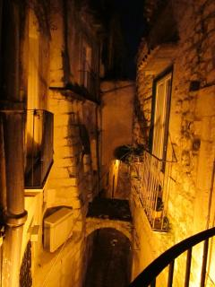 Modica at night