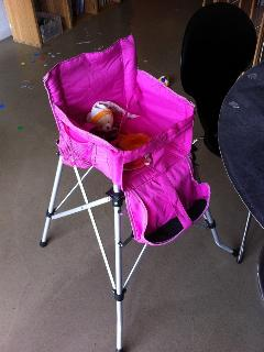 baby chair available upon th request prior to the reservation