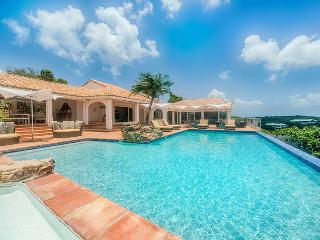 SPECIAL OFFER: St. Martin Villa 258 Spend Tranquil Days On The Limestone Pool Terrace Listening To The Sweet Songs Of Colorful Birds., Terres Basses