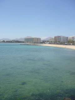 Reducto Beach towards Playa Honda