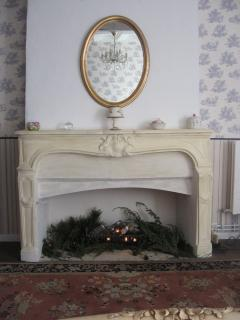 Bedroon 2 fireplace (non working)