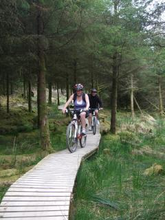 Mountain Bike trail in the Ballyhoura region - one of the largest in Europe
