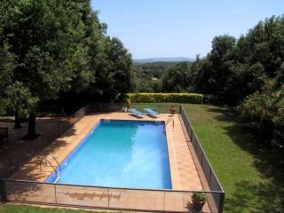 Costabravaforrent Carrió, para 14, jardin, piscina, Foixà