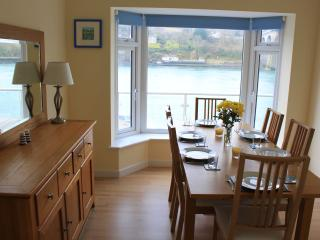 The Dining Room with views looking out onto the Menai Straits