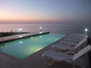 Sunset on your private terrace