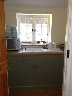 The handmade kitchen is just what you need if you fancy cooking the local produce