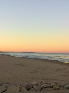 La magnífica playa