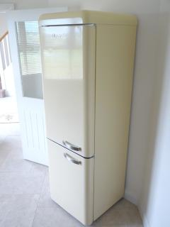 With a large Retro style fridge freezer there is plenty of room for keeping things cool.