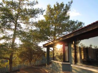 Quiet natural hilltop setting, panoramic views, Gerasa
