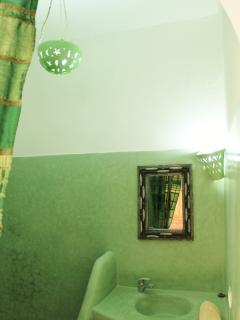 Salle de Bain Chambre. 'Afriquaine'