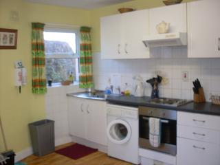 Kitchen area House 3, Erneside Townhouses, with dining area for 6 people