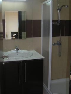 Ensuit shower room to master bedroom.