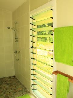 En suite shower rooms