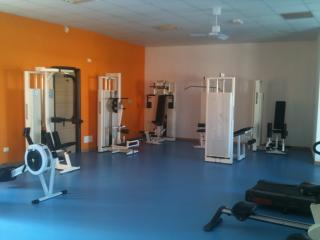 Gymnasium on site - fully equiped