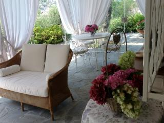 soggiorno nella veranda