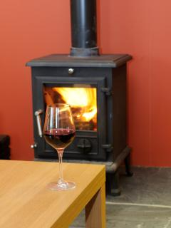 toast your toes by the cosy log burner
