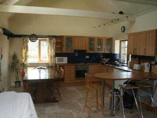 Our spacious kitchen/dining area - complete with underfloor heating