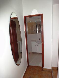 bathroom lobby