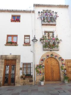 A corner of the Javea old town