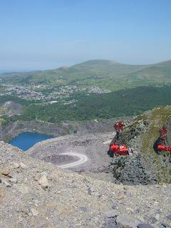 Zip World - Bethesda, about a 35 minute drive and Zip World Titan, Blaenau - 2 minutes away
