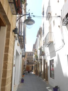 A street in the old town