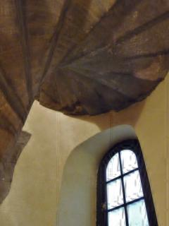 Escalier classé en pierre 18ème  accès appartement 2° étage