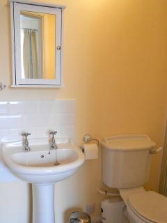 Ensuite with large power shower