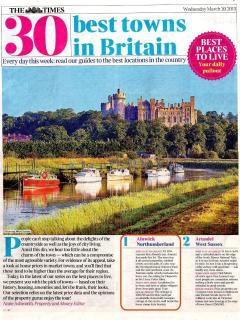 Best town to live in Britain 2013