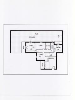 Planimetria catastale appartamento