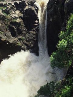 Saar River Waterfall