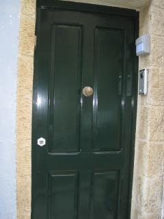 Main door with own entrance