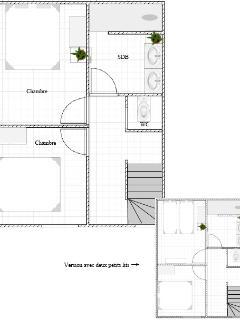 Plan 1° étage