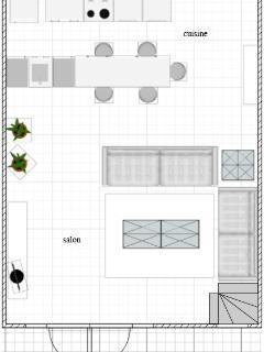 Plan rez de chaussée