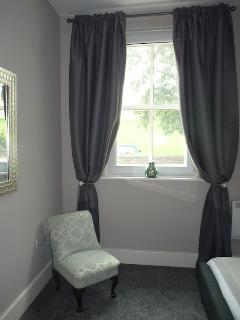 Sound insulated Bedroom overlooking the city walls