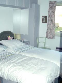 single beds - third bedroom