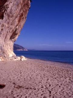 The famous beach Cala Luna