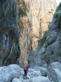 The canyon of Gorropu - Supramonte